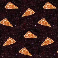 pizza galaxy - sewoeno - Spoonflower