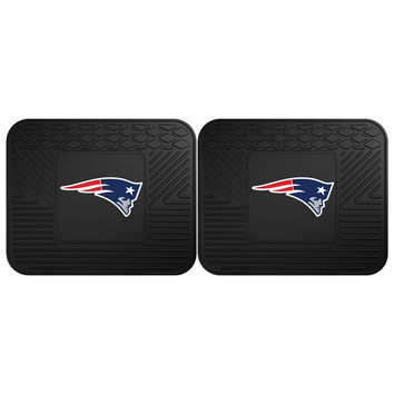 New England Patriots NFL Utility Mat (14x17)(2 Pack)