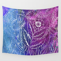 Waiting for Spring Wall Tapestry by anipani
