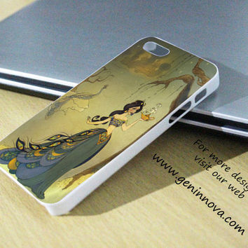Princess Jasmine Samsung Galaxy S3/ S4 case, iPhone 4/4S / 5/ 5s/ 5c case, iPod Touch 4 / 5 case