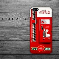Coke Vending Machine - Cocacola 01 - Iphone 5 Case - 2D Iphone Case - Hard Plastic Case