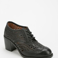 Jeffrey Campbell Fremont Laser-Cut Heeled Oxford - Urban Outfitters
