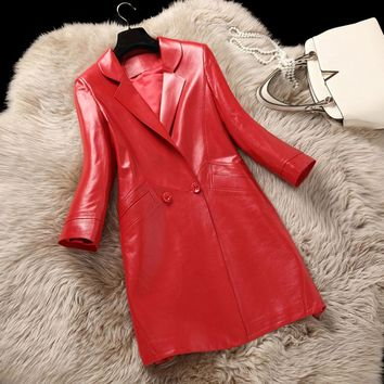 Genuine Leather Jacket For Women
