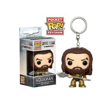 Justice League Aquaman Pocket Pop! Key Chain