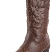 Rampage Women's Wellington Boot,Brown,8 M US