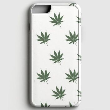 Marijuana Weed Leaf Pattern iPhone 6/6S Case
