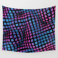CUBE II Wall Tapestry by Graphmob