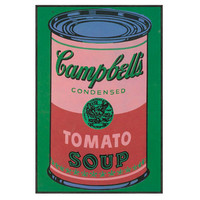 Andy Warhol, Green Campbell's Soup Can, Paintings