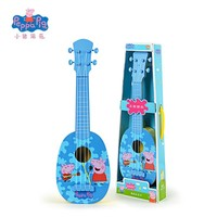 "Peppa George Pig 44cm/17.3"" 2017 New Children Musical Instruments Toy Ukulele Guitar Education Christmas New Year Gifts For Kids"