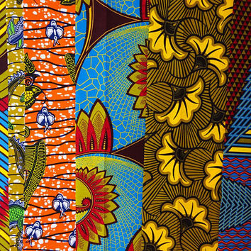 Fat quarter bundle/ African print /  Fat quarters fabric/ Ankara fabric/ Fat Quarter/ Quilting fabric/ Craft supplies/ art craft project