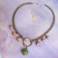 Mini Lantern O Necklace
