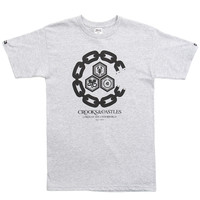 Crooks & Castles - Chain C Underworld T-Shirt (Grey)