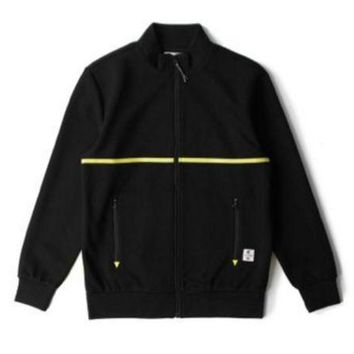 ONETOW Crooks And Castle Rocket Track Jacket In Black
