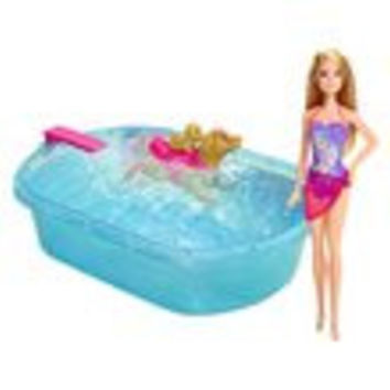 Barbie Swimmin' Pup Pool and Doll