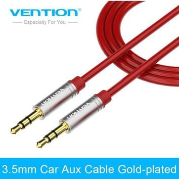 Vention Aux Cable 3.5mm to 3.5 mm Jack Audio Cable Gold-plated Male to Male Stereo Auxiliary Cord for Phone Car Speaker