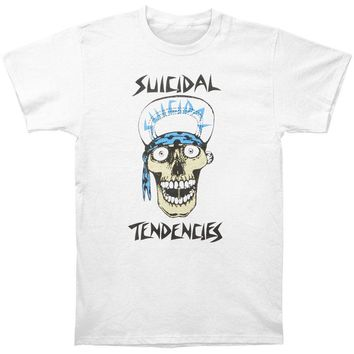 SHIRT SUICIDAL TENDENCIES Punk Rock Band Men's Printed Tee Shirt Skull T-shirt (S-4XL)