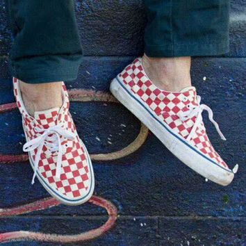 VANS ERA PRO red board skateboarding sports shoes F-CSXY