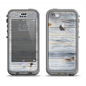 The Light Tinted Wooden Planks Apple iPhone 5c LifeProof Nuud Case Skin Set