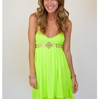 The Bold & Beautiful Neon Dress - Dresses - Apparel | Sugar and Sequins