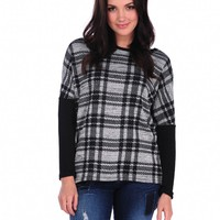 Vintage Havana Plaid Fly Back Top