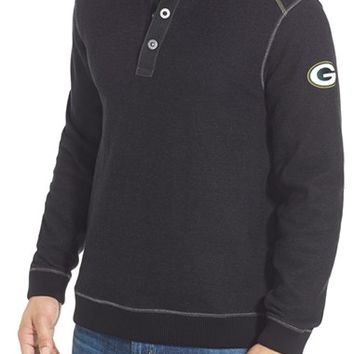 Men's Tommy Bahama 'Scrimshaw - Green Bay Packers' NFL Pullover,