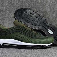 Nike Air Max 97 Military Green Running Shoes Size 40-47