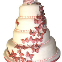 Wedding Cakes: best butterfly wedding cakes design ideas