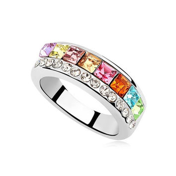 Shiny Gift Stylish New Arrival Jewelry Crystal Accessory Ring [4989642500]