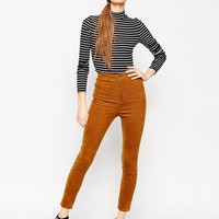 ASOS Skinny Trousers in Cord at asos.com