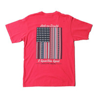 Ain't No Doubt I Love This Land Tee in Firecracker by Jadelynn Brooke