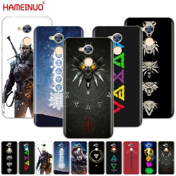 HAMEINUO The Witcher 3 Wild Hunt signs cell phone Cover Case for  Huawei Honor 5A LYO-L21 5.0 inch 6A 6C 6X 9 NOVA PLUS Y3 II 2