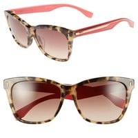 Women's Fendi 56mm Special Fit Sunglasses