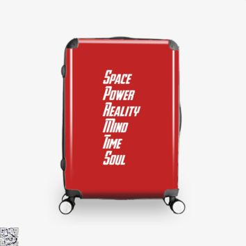Stones Of Infinite, Avengers Infinity War Suitcase