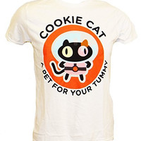 Steven Universe Cookie Cat Treat For Your Tummy T-Shirt