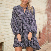 Shout It From The Rooftop Dress, Black