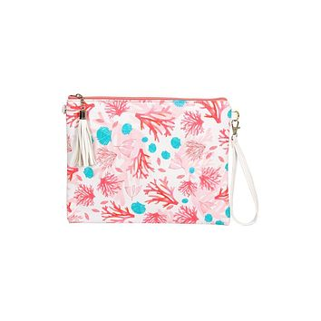 Coral Branch Crossbody Bag