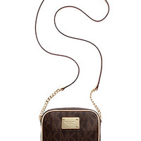 MICHAEL Michael Kors Handbag, MK Logo Crossbody - Handbags & Accessories - Macy's