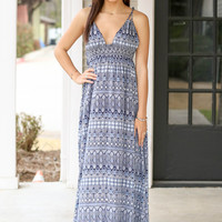 To the Max Maxi Dress - Navy