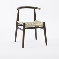 John Vogel Chair - Flax/Chocolate