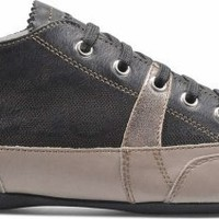 Geox MOENA in DOVE GREY/BLACK - Geox Womens shoes.