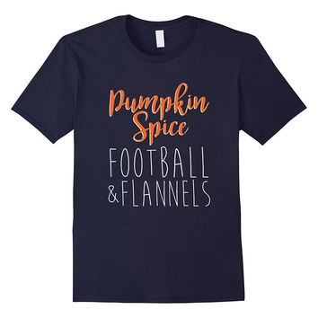 Pumpkin Spice Football & Flannels T-Shirt