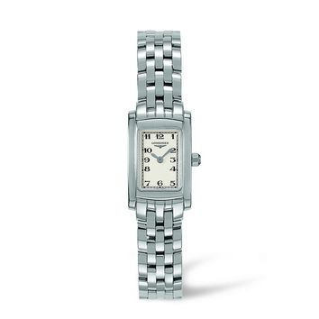Longines Dolce Vita White Dial Stainless Steel Ladies Watch L51584736