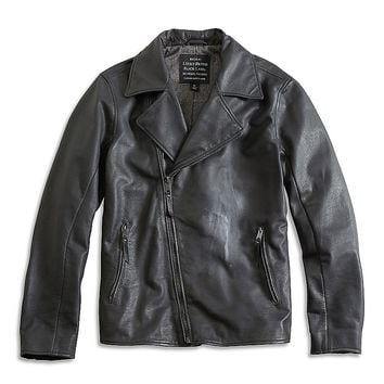 Lucky Brand A Line Biker Jacket Mens - Black