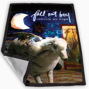Fall out boy infinity on high Album cover Blanket for Kids Blanket, Fleece Blanket Cute and Awesome Blanket for your bedding, Blanket fleece **