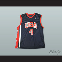 Allen Iverson 4 Team USA Basketball Jersey