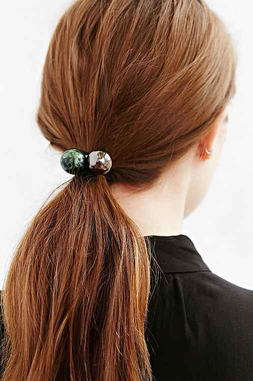 Maya s Marble Ponytail Holder from Urban Outfitters 4be3e5fca09