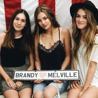 Original Brandy Melville Sign with Heart
