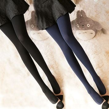 Women's Hosiery Spring seam high elasticity Patterned Tights
