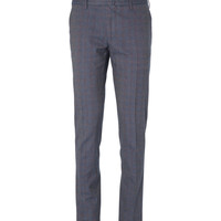 Slowear Incotex Skinny-Fit Cotton-Blend Check Trousers | MR PORTER