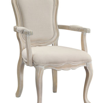 Natural/Ivory Accent Chair